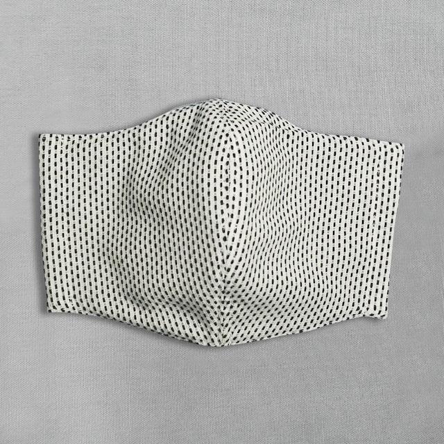 刺子生地のマスク Mサイズ
