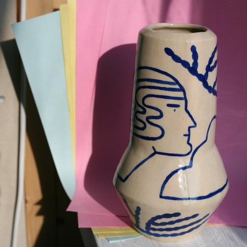 """Sophie Alda """"Large rocket vase"""""""