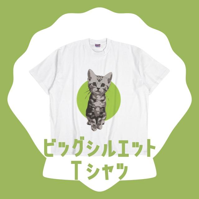 ビッグシルエットTシャツ【にゃんぴーす】
