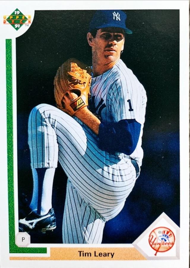 MLBカード 91UPPERDECK Tim Leary #693 YANKEES