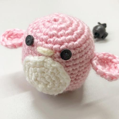 ペンギン ピンク  チョークボール cb-457