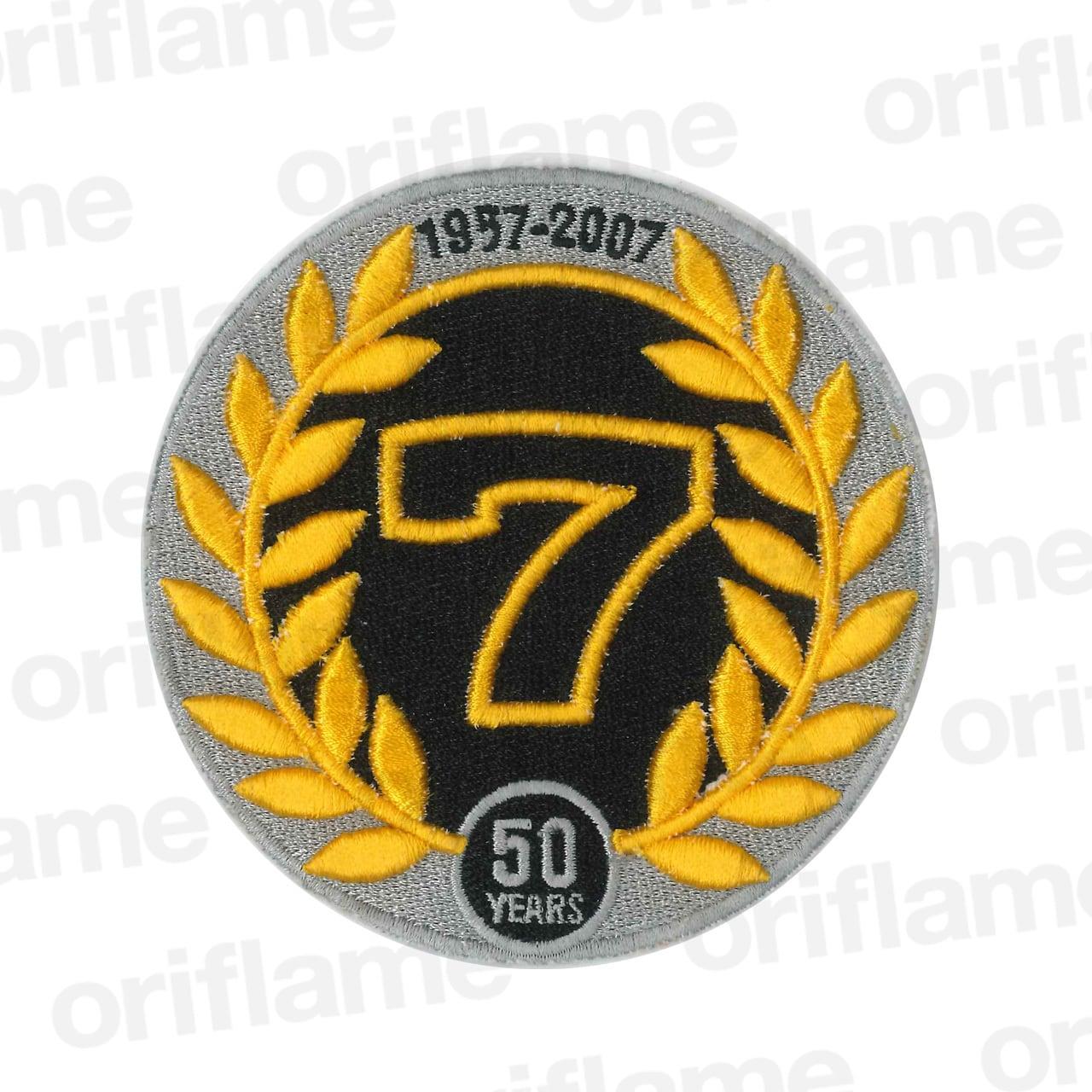 セブン・1957-2007・50周年・ワッペン・100mm径