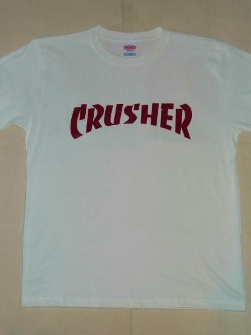 ■ CRUSHER Tシャツ ■ス◯ッシャー風!MMA好きに