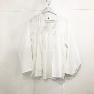 -by RYOJI OBATA Surgical call shirt white