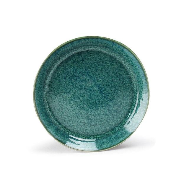 aito製作所 「ナチュラルカラー Natural Color」スタンダード プレート 皿 14cm グリーン 美濃焼 517023