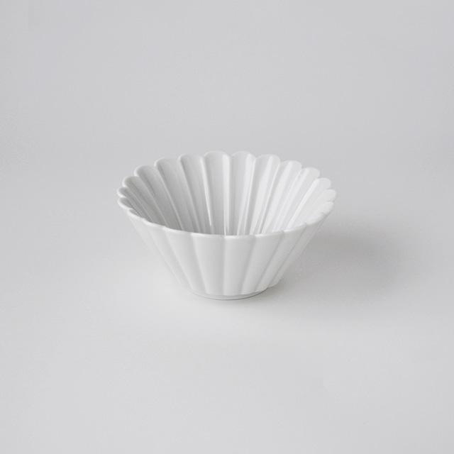 白高麗菊彫反鉢(S)
