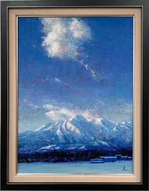 大口満・大島画廊コラボ額装 『雲と妙高』