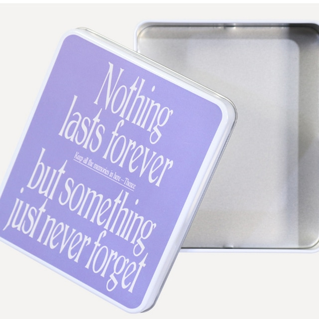 「NEVER」マルチ缶ケース