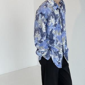 タイダイルーズシャツ YH5775