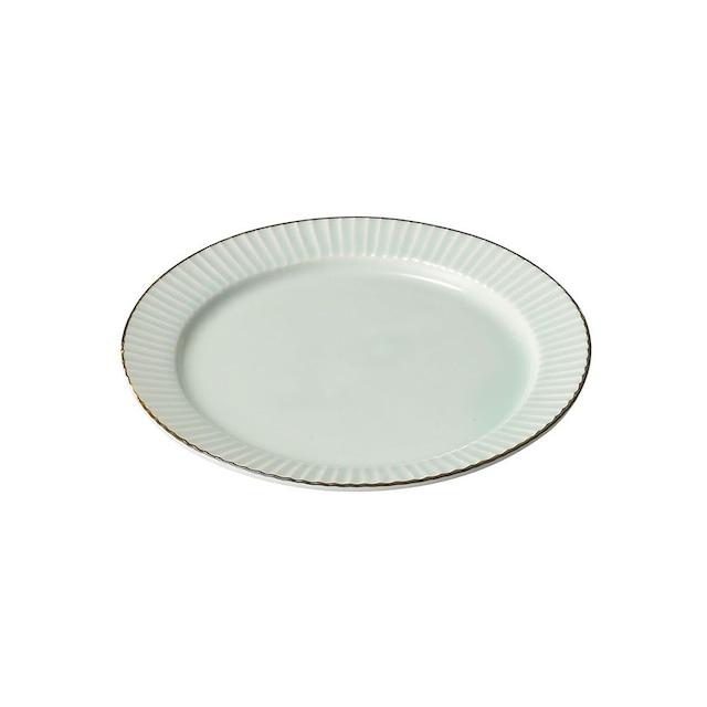 aito製作所 「ティント Tint」プレート 皿 M 約17cm ライトブルー 美濃焼 289007