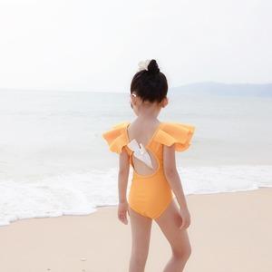 キッズ水着 ロンパース水着 子供水着 女児 女の子用水着 ベビー水着キッズみずぎ スイミング ウェア ジュニア 小学生9333