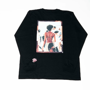 K'rooklyn Long T-Shirt × Yusuke Oishi (MARCOMONK)  Black