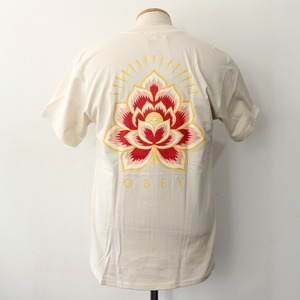 【OBEY】 OBEY RADIANT LOTUS (CREAM)