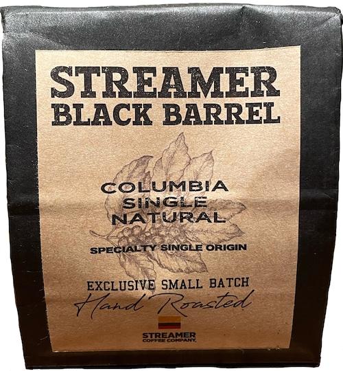 COLUMBIA SINGLE NATURAL  100g (STREAMER BLACK BARREL - SPECIALTY SINGLE ORIGIN SERIES)