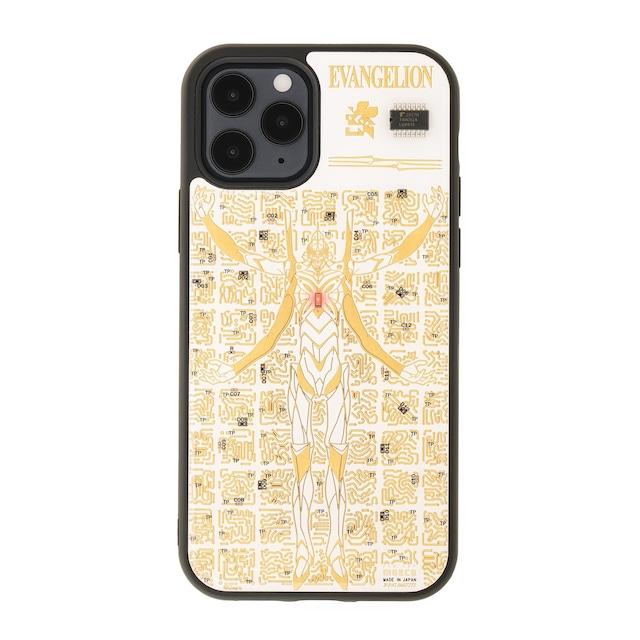 FLASH EVA13 基板アート iPhone 12 / 12 Pro ケース 白【東京回路線図A5クリアファイルをプレゼント】