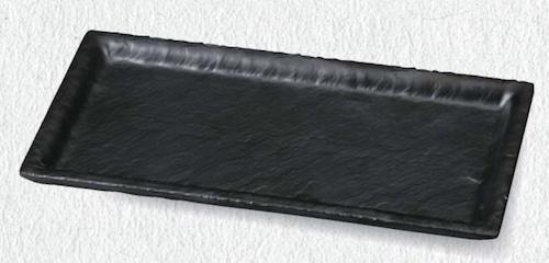 27.8 石削り長角皿 6-380-5