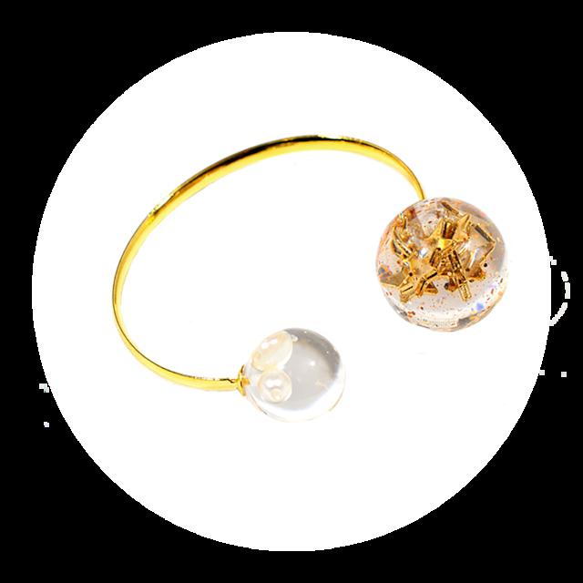 Le Ballon bangle(ルバロンブレス ゴールド)EMU-001bgg