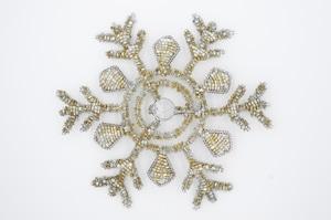 帯留め《 雪の結晶プライム 》