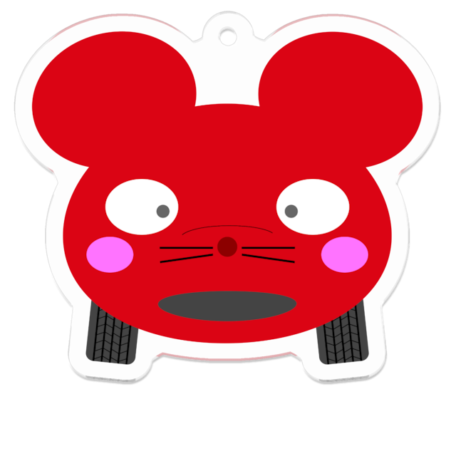 Cinque colori topolino(ロッソ)