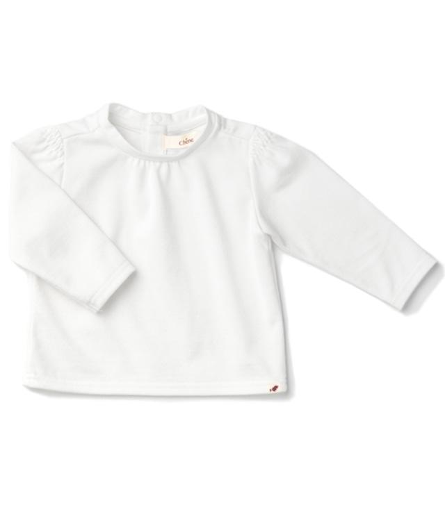 【ベビー服】ブラウスTEE/ オフ / 70~100サイズ