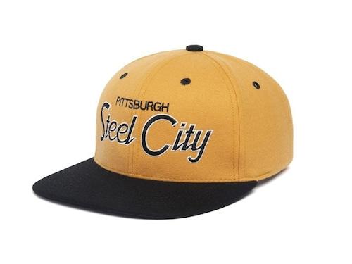HOOD HAT Steel City Two Tone
