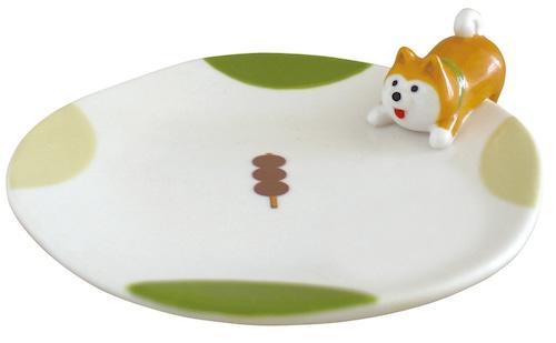 concombre おやつのとりこ皿 柴犬