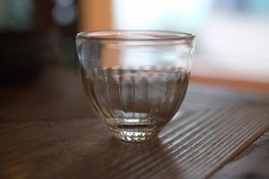 【カンナカガラス工房◆村松学】◆◆◆冷茶グラス◆◆透明◆◆◆