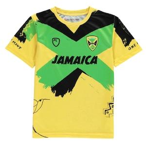 Jamaica RL 21/22 Training T-Shirt Yellow【海外取寄せ商品】