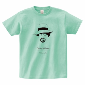 ダフィッド・ヒルベルトTシャツ_アイスグリーン)/David HIlbert T-shirt (Ice Green)