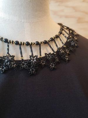 つけ襟風ネックレス Mon collier