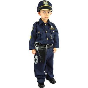 ハロウィン 仮装 子供 コスプレ衣装 コスチューム キッズ ハロウィーンHalloween 男の子  ポリス 警官 衣装 3-14才 3508