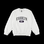 K'rooklyn College Sweat -White-