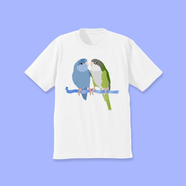 サザナミインコ ユウギリインコ Tシャツ