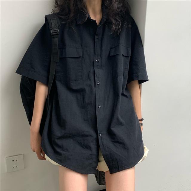 2021SS ボーイフレンドシャツ S1569