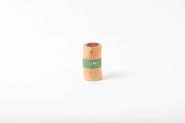 Life! / pure hinoki pot(ヒノキのオイルポット)
