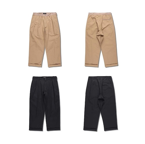 WDS TUCK TROUSERS PANTS