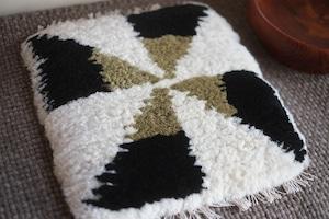 ◆◆ノッティング◆◆手織りの椅子敷き◆◆(小サイズ) NEW! k