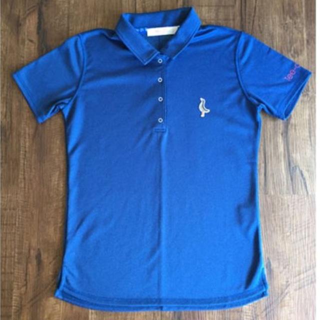 【 LADIES 】サンゴクロスポロシャツ【AXIS】<NAVY BLUE><Sサイズ>