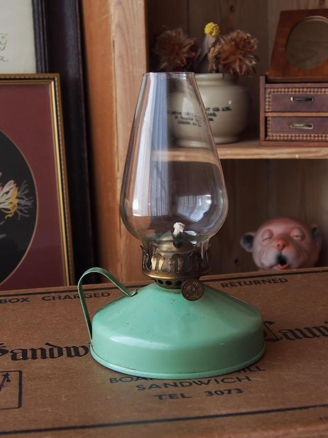 イギリスアンティーク オイルランプ