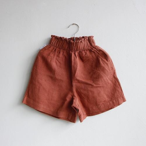 《MINGO. 2021SS》Paper Bag Short / Sienna Rose