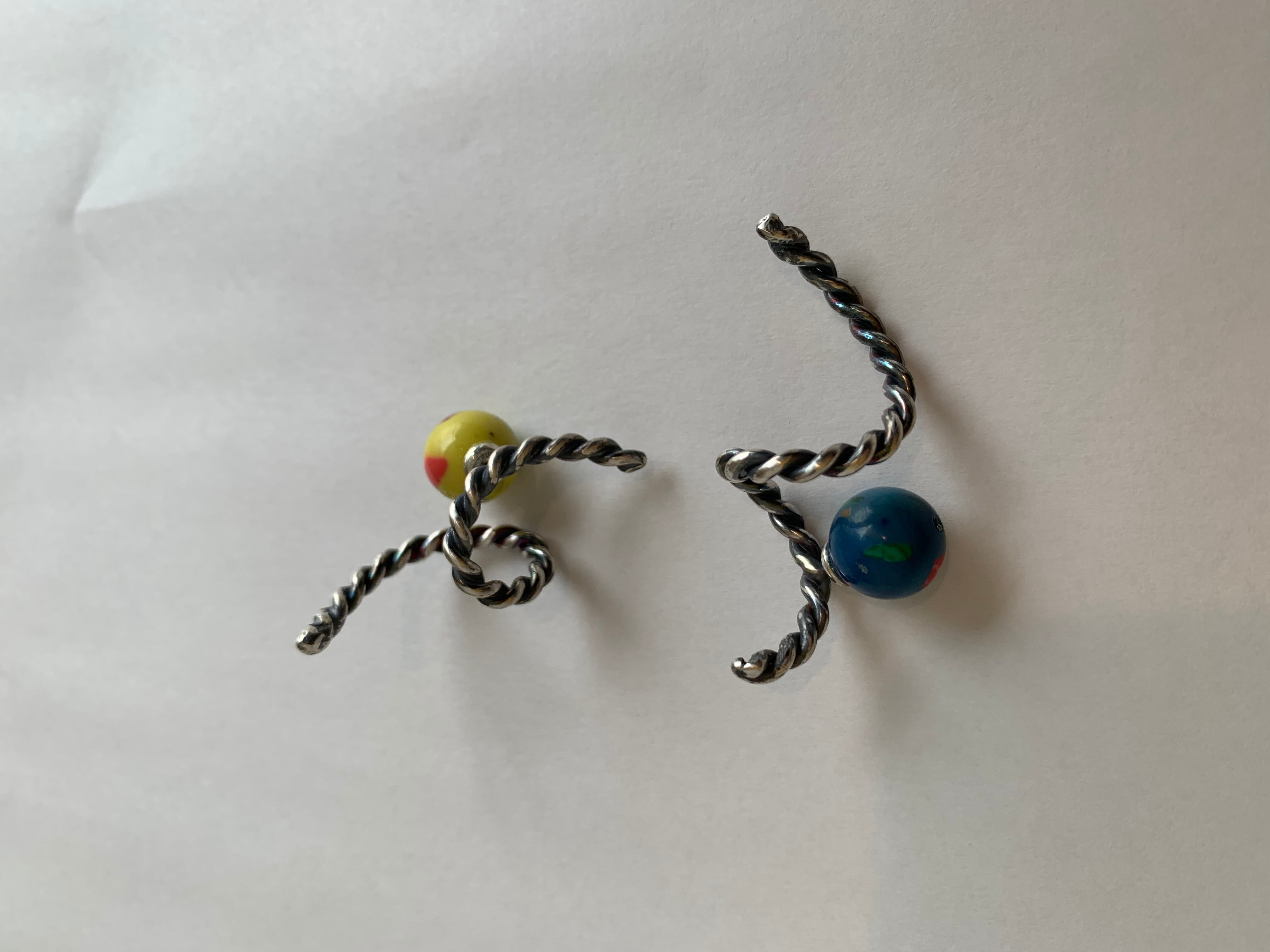 Roping earring spiral mini