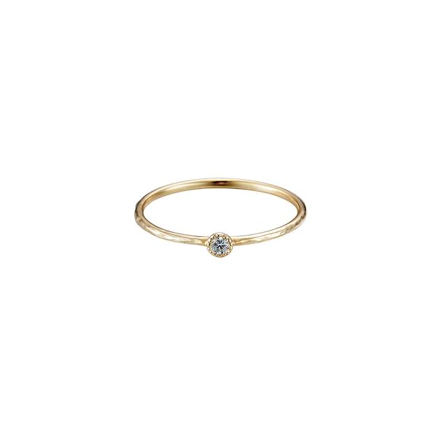 One Diamond Ring / K18YG