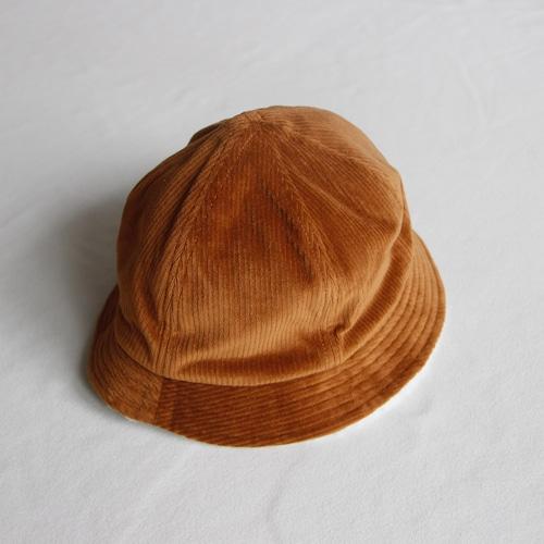《chocolatesoup 21AW》CORDUROY × BOA REVERSIBLE HAT / BROWN