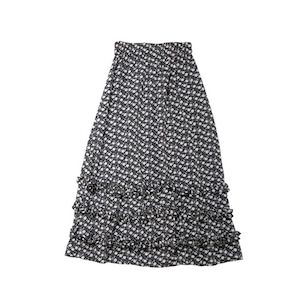 flower frills skirt