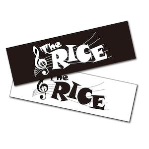 The RICE ステッカー(2枚組)