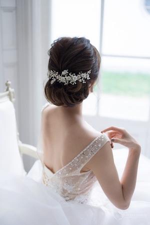 ブライダルヘッドドレス[HA-066]