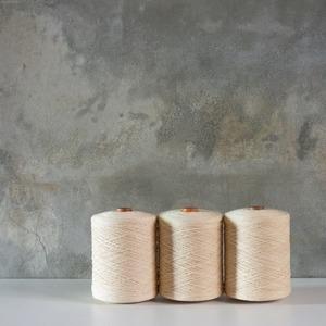 生成りの綿糸  3set