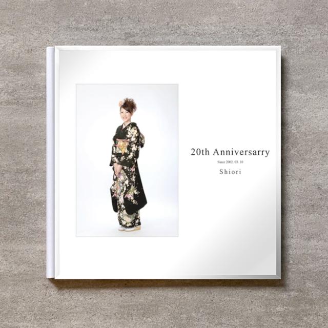 20th Anniversary_300SQ_20ページ/30カット_スリムフラット