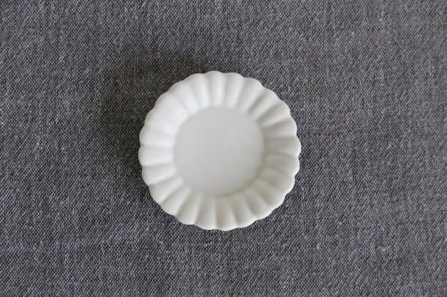 臼杵焼 豆皿(輪花)