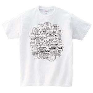 漫画 Tシャツ メンズ レディース 半袖 おもしろ ゆったり パロデ ィ トップス 白 30代 40代 ペア ルック プレゼント 大きいサイズ 綿100% 160 S M L XL